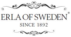 Erla of sweden logo vaatetusliike Aaron's