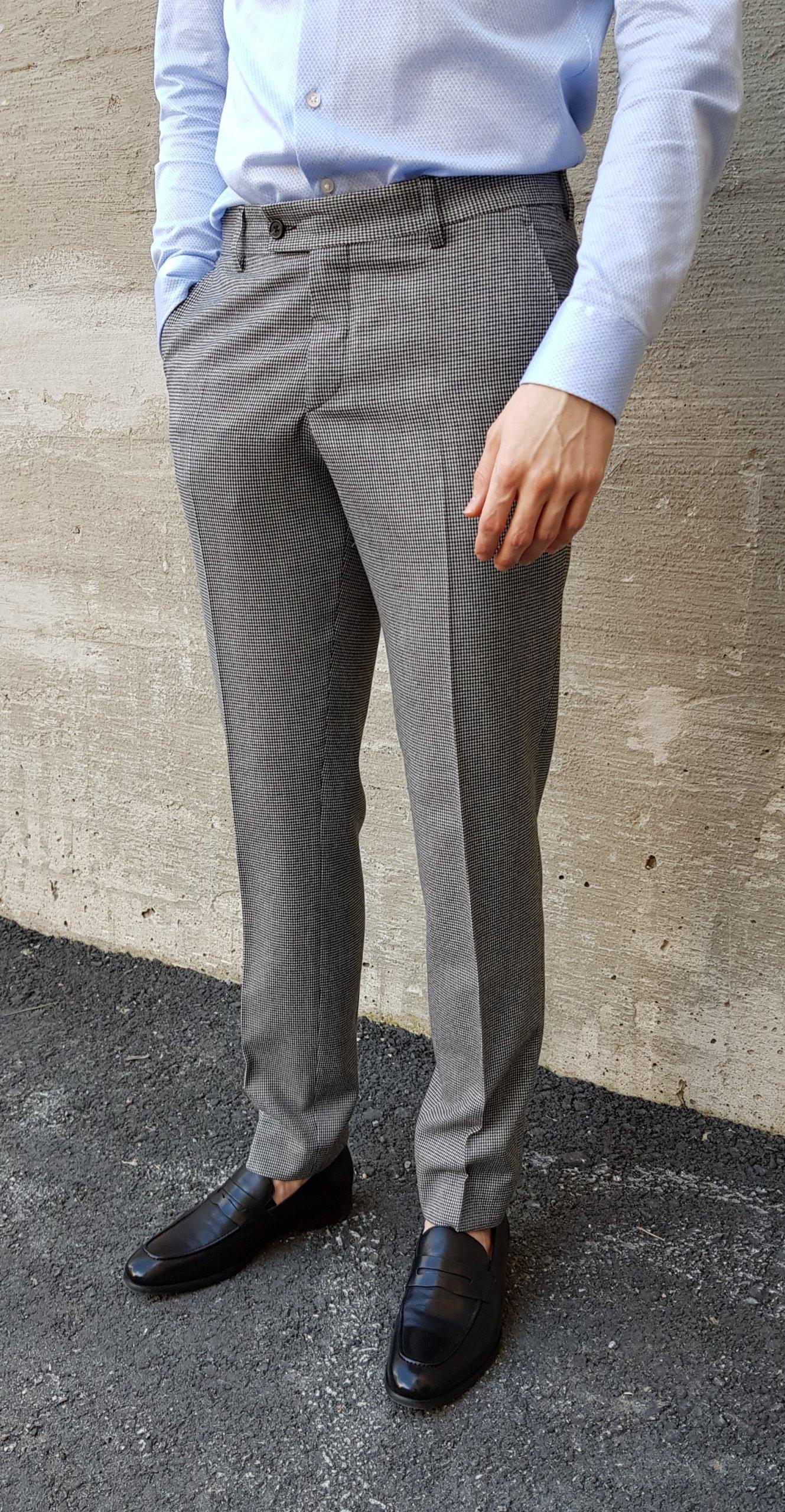 Miesten suorat housut
